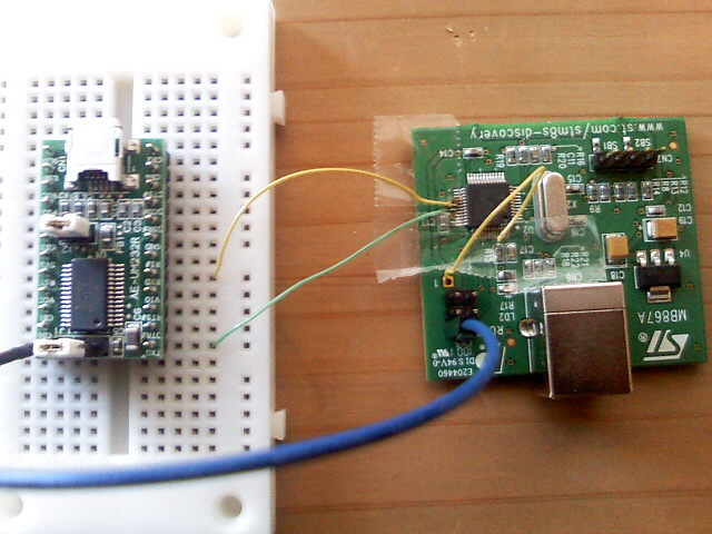 Serial Loader with STM8S Discovery Kit
